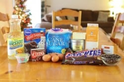 Snickers Cupcake Ingredients