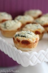 Baked Spinach Dip Bread Bowls 2