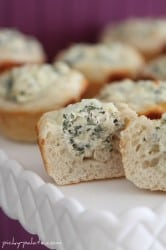 Baked Spinach Dip Bread Bowls 4