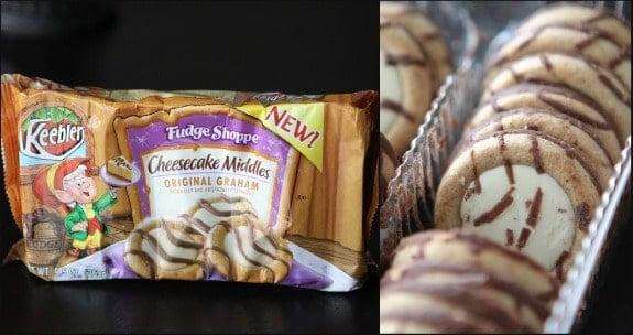 Image of Keebler Cheesecake Middle Graham Cookies