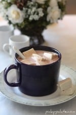Hot Chocolate with Maple Marshmallows