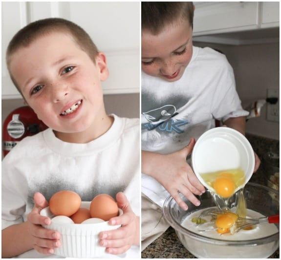 Image of Adding Eggs