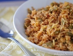 Turkey and bean red rice 2