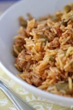 Smoky Turkey and Saffron Red Rice