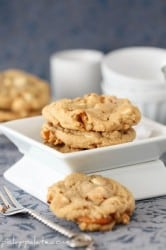 Double White Chocolate Peanut Butter Pretzel Cookies 1