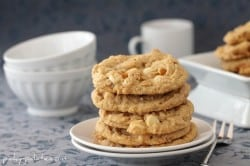 Double White Chocolate Peanut Butter Pretzel Cookies 6