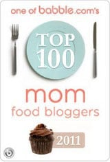 Top 50 Mommy Food Bloggers 2011