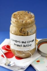 Cookies and Cream Peanut Butter 1