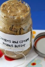 Cookies and Cream Peanut Butter...Midnight Snack