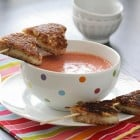 Grilled Cheese Kabobs and Speedy Tomato Soup