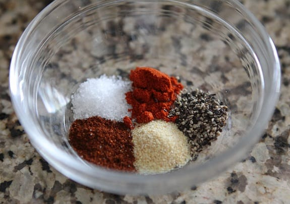 McCormick Spices in a Small Bowl