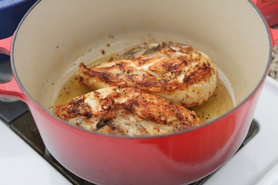 Chicken Breasts on the Stove
