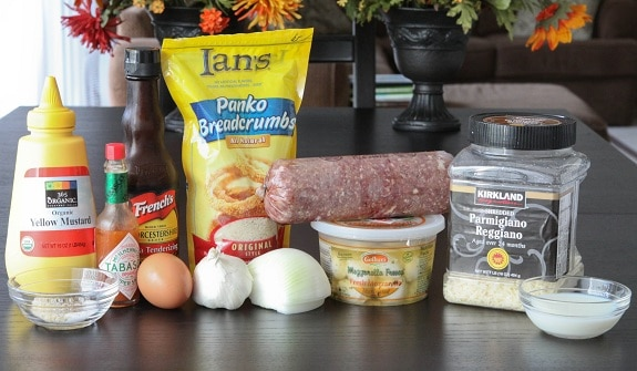 Ingredients You'll Need to Make Mozzarella Stuffed Meatballs