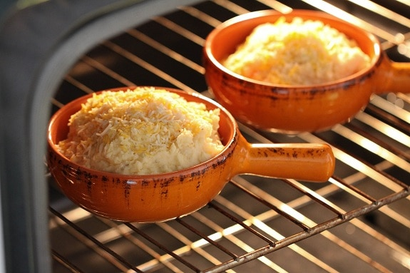 Smoky & Cheesy Buttermilk Baked Mashed Potatoes in the Oven