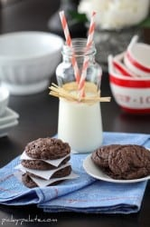 Bakery Style Chocolate Cookies and Cream Cookies 1