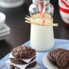 Bakery Style Cookies and Cream Cookies