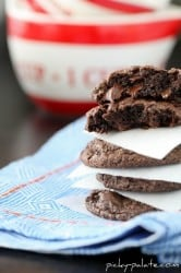 Bakery Style Chocolate Cookies and Cream Cookies 5