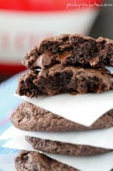 Bakery Style Chocolate Cookies and Cream Cookies 6