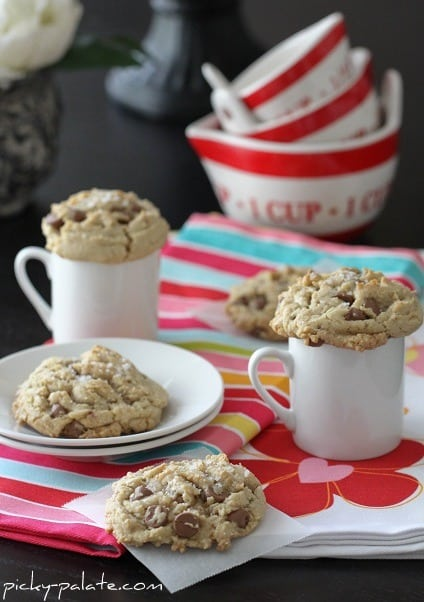 Five Brown Butter and Fleur de Sel Chocolate Chip Cookies