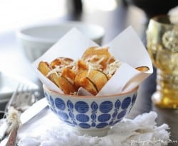 Homemade Salt and Parmesan Chips 2
