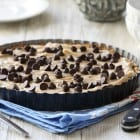 Creamy Peanut Butter Chocolate Chip Tart