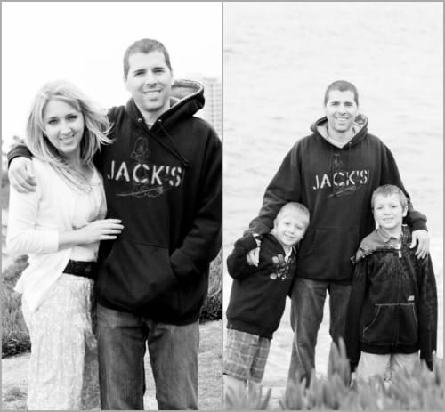 The Flake Family at La Jolla Beach