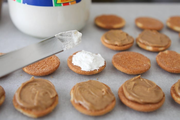 Salted Chocolate Covered Fluffer Nutter Wafers Recipe ...