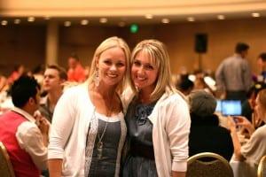 Jen and Leslie