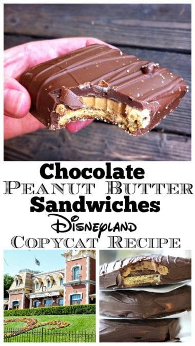 chocolate peanut butter sandwiches