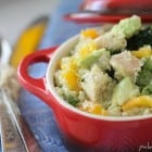 Chicken and Avocado Quinoa Summer Salad