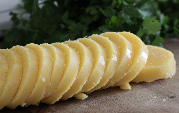 Image of Sliced Polenta