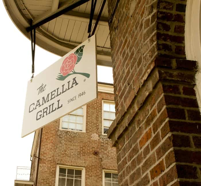 Image of The Camellia Grill Sign