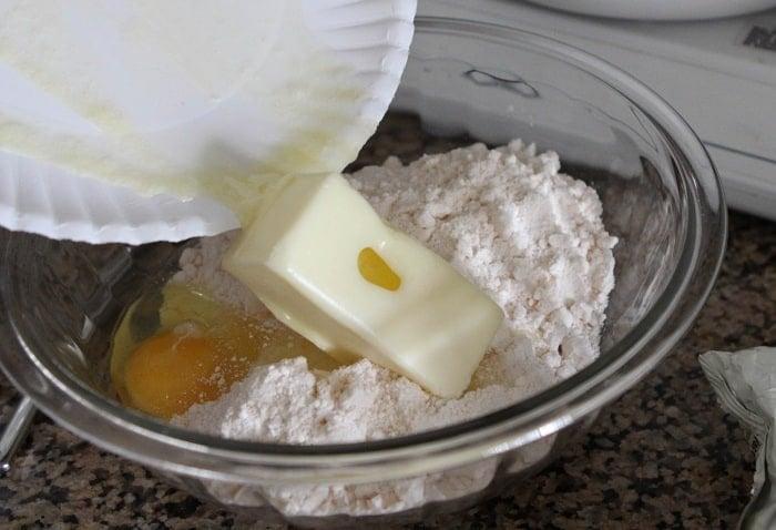 Gooey White Chocolate Fluffernutter Cake Bars - Picky Palate