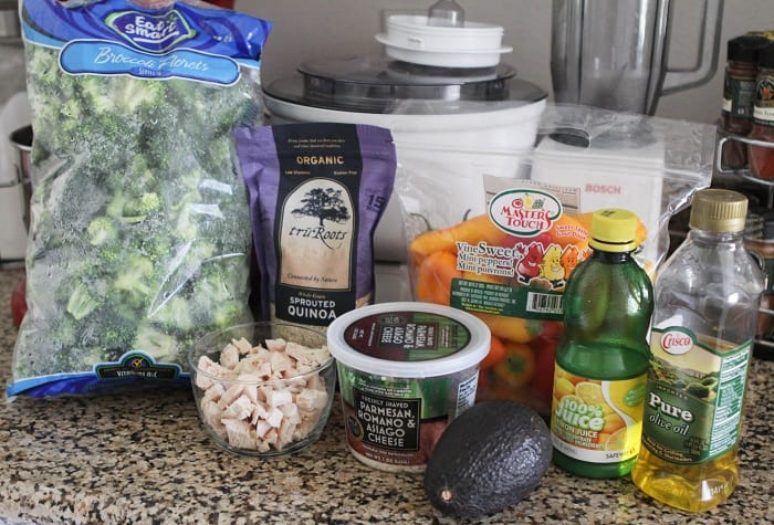Image of Chicken and Avocado Quinoa Summer Salad Ingredients