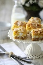 White Chocolate S'mores Gooey Cake Bars