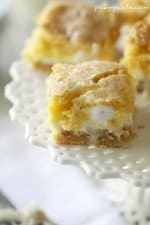 Image of a White Chocolate S'mores Gooey Cake Bar