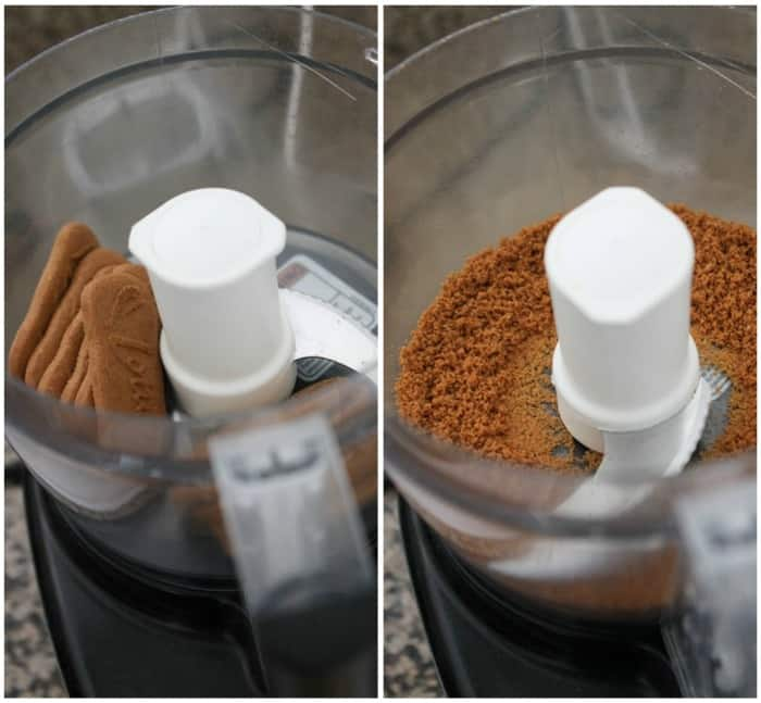 Image of Biscoff Cookies in a Blender