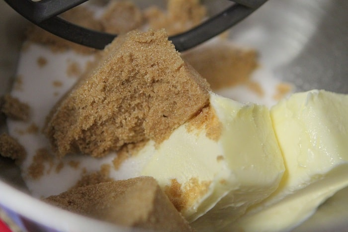 Image of Sugar and Butter in a Bowl