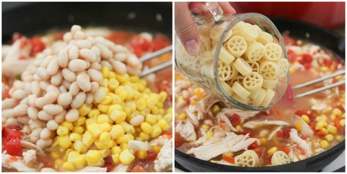 Image of Beans & Pasta for Southwest Chicken Chili Mac