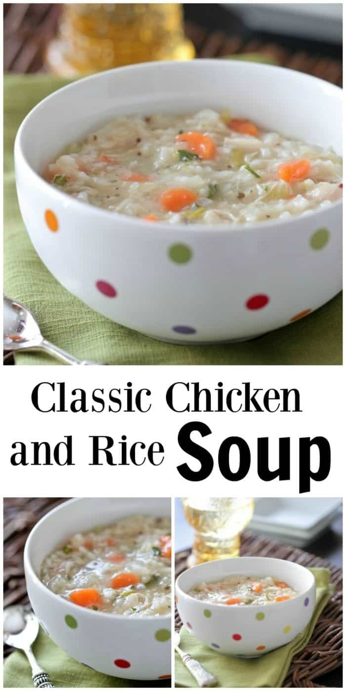 Classic Chicken and Rice Soup