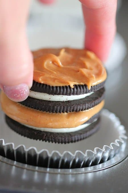 Image of Oreos with Peanut Butter