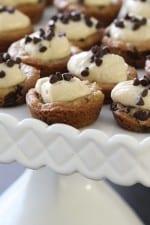 Mini Chocolate Chip Cookie Cups