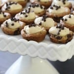 Image of Mini Chocolate Chip Cookie Cups
