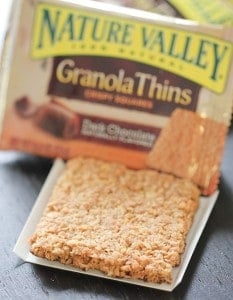 Granola Thins, nature valley 014