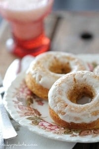 Baked Pumpkin Ice Cream Donuts 145sm