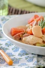 Image of Chicken Stew with Sausage & White Beans