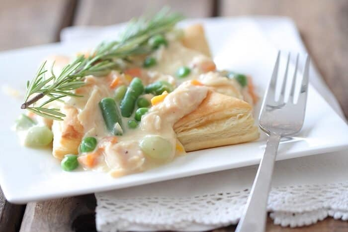 Image of Inside Out Chicken Pot Pie