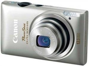 Canon-PowerShot-ELPH-300-HS-Silver-Front