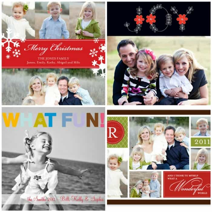 Christmas Card Giveaway! 3 Winners by Shutterfly. - Picky Palate