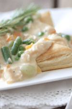 Image of Inside Out Chicken Pot Pies